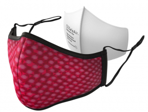 O2 Safe Air Mask - Red