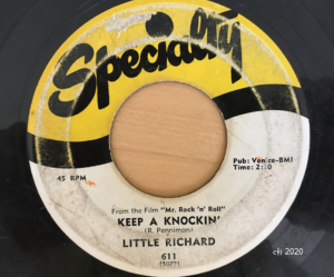 Keep A Knockin' - Little Richard - Specialty Records - Photo by CTI