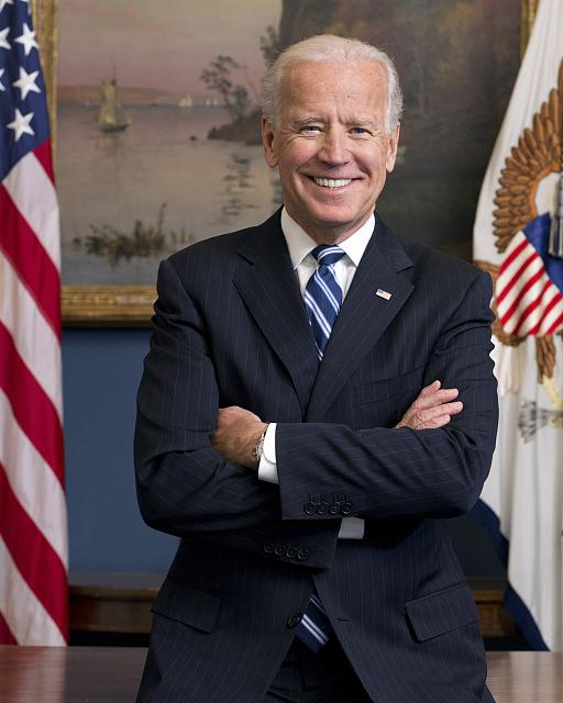 Official White House photo of President Joe Biden (courtesy of Library of Congress)